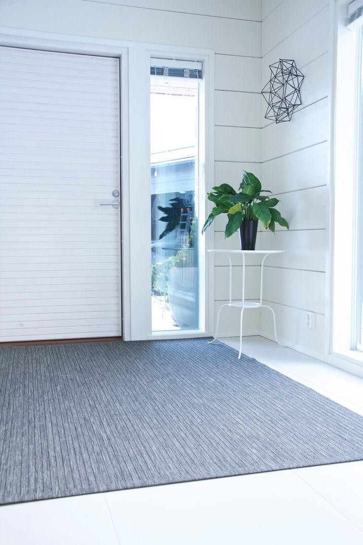 Talo Markki - new carpet in the lobby