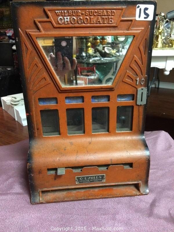 Wilber-Suchard Chocolate Dispenser
