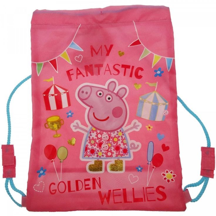 Peppa Pig Golden Wellies Trainer Bag