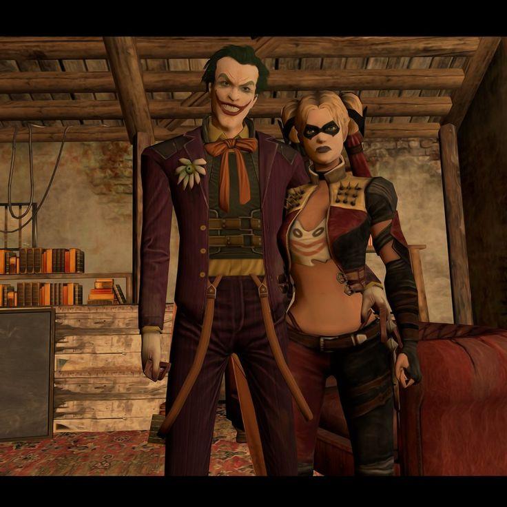 Harley Quinn And Joker Injustice