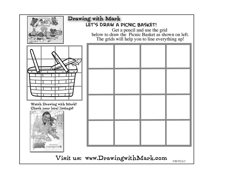 Let's draw Picnic Basket with Mark! Learn how to here.