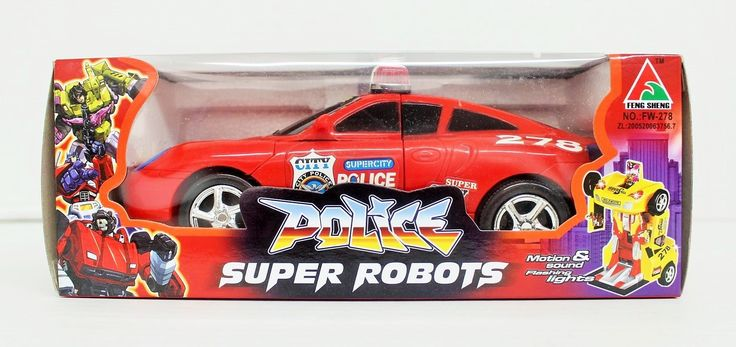 Police Super Robots, Car Transformer