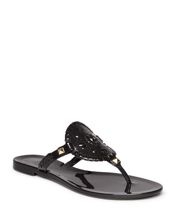 3c749f64610d Jack Rogers takes an iconic sandals style to the beach and beyond in this  fun jelly