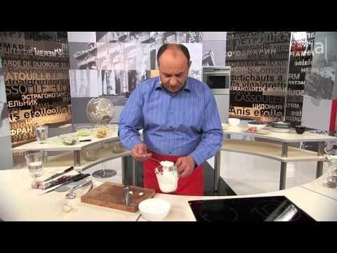 Кухня Греции и Кипра. Гирос с дзадзыки - YouTube