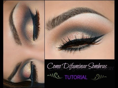 COMO DIFUMINAR SOMBRAS -TUTORIAL - YouTube