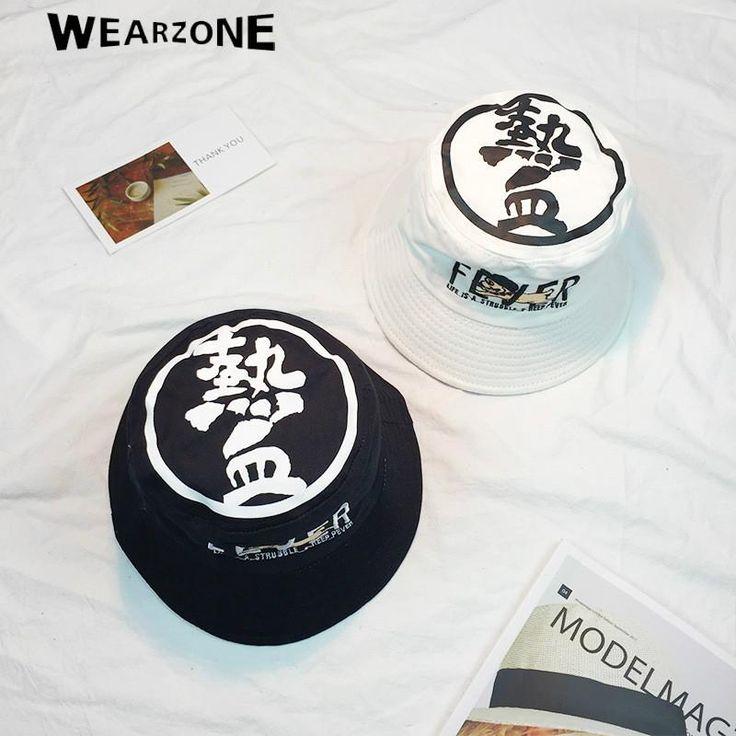 Bucket cap Man Women Unisex cotton Embroidery Caps Hip Hop cool sports Summer Beach Sun Fishing Bucket Hats