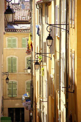 Quartier du Panier, Marseille,France