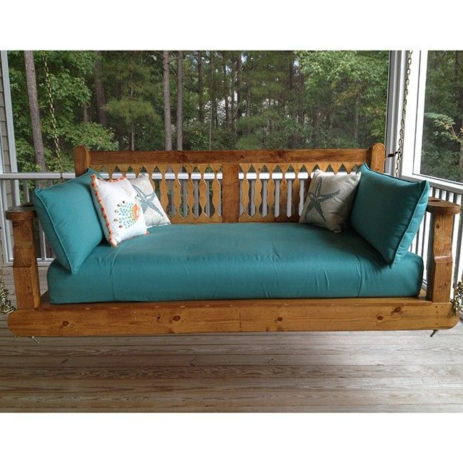 17 best images about swings hanging beds on pinterest for Outdoor swing bed