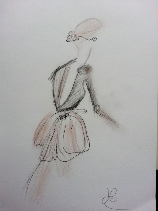 Shade of Fashiion #art #drawing #girl #fashion #fashiondrawing #sketch #paperfashion