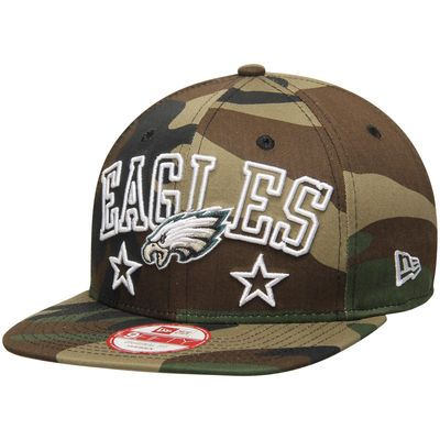 Philadelphia Eagles New Era Star Up City Original Fit 9FIFTY Adjustable Hat - Camo