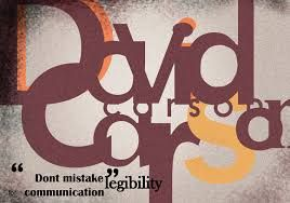 Image result for david carson typography