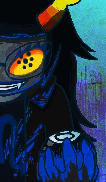 homestuck troll art background - Google Search