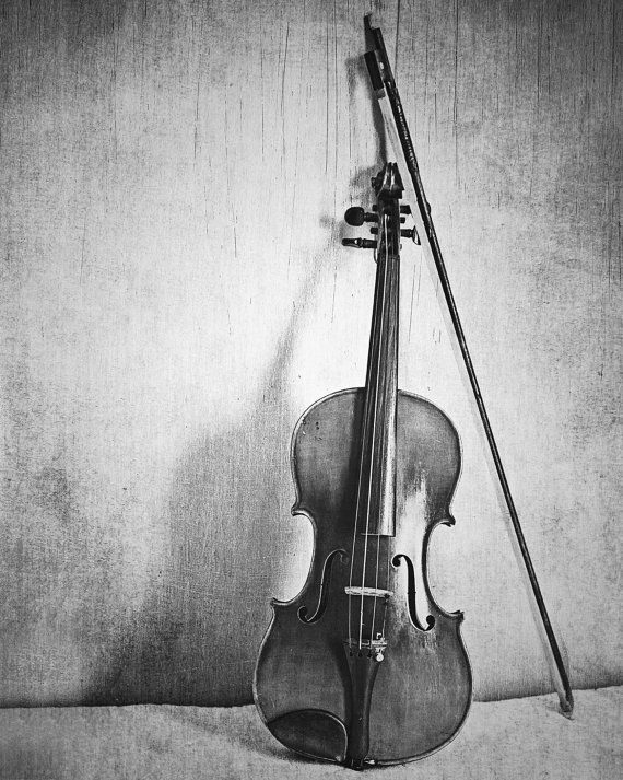 Still Life: Violin Fine Art Photography Musical Instrument Music Fiddle Photo Print Classical Music Room Decor Music Lover Fiddler Gift Idea