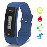 Kids Fitness Tracker with Pedometer, Willful Fitness Activity Tracker Watch Step Counter Wristband Smart Bracelet Bands for Walking Kids ( Pedometers, Calories, Distance, Sleep Monitor ) Non Bluetooth, Non APP (Blue) - https://www.trolleytrends.com/?p=757360