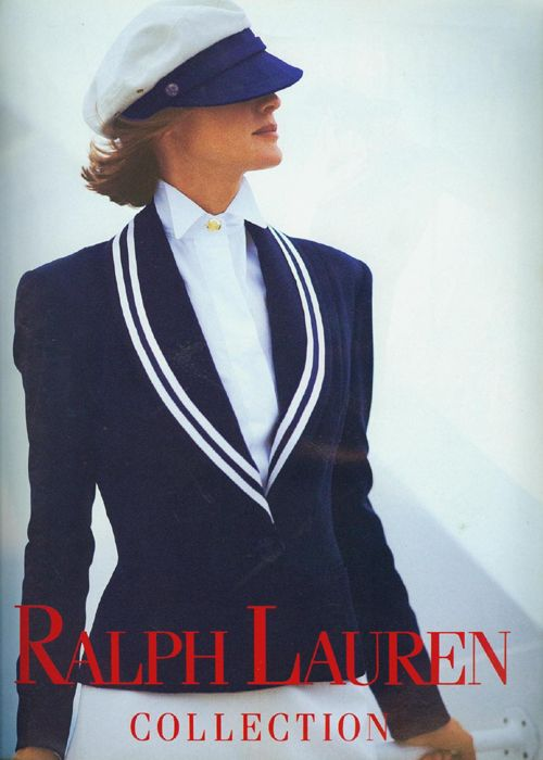 Ralph Lauren S/S 1992 Photographer: Bruce Weber...