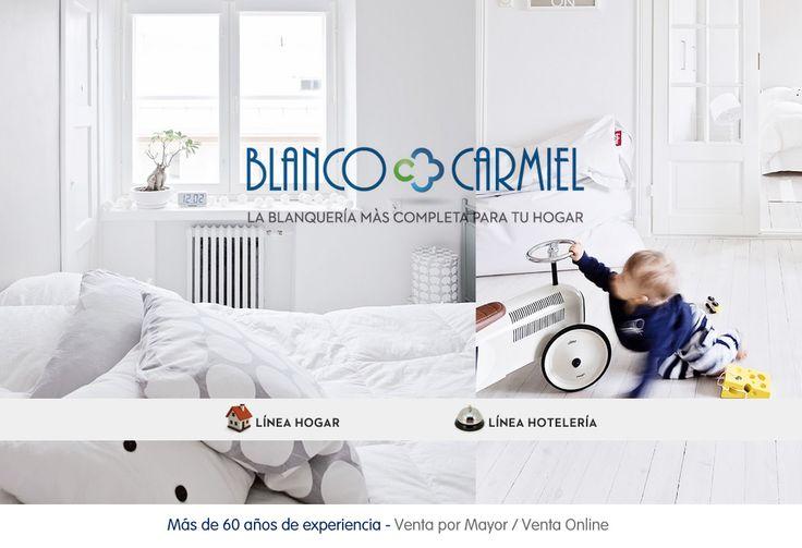 BLANCO CARMIEL - Blanquería para hogar y hotelería - Venta Mayorista / Venta Online - La Blanquería con 60 años de experiencia