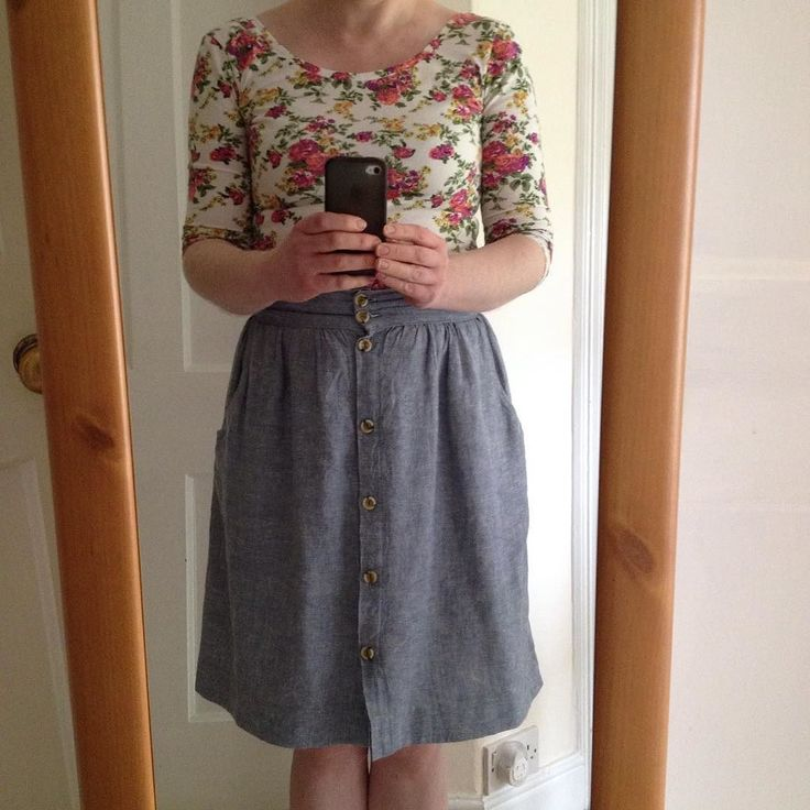 #mmmay16 wearing my @girlcharleeuk floral Agnette with @megannielsenpatterns #kellyskirt this morning although quickly changed out of the skirt into jeans and cosy cardi after the school run now the weather's turned again. It was bound to happen after I'd finished sewing a summery dress last night sorry! @tillybuttons #sewingagnes @closetcasefiles #nettebodysuit by sewmarylou