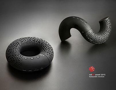 """Portable Bluetooth speaker """"AeroTwist"""""""