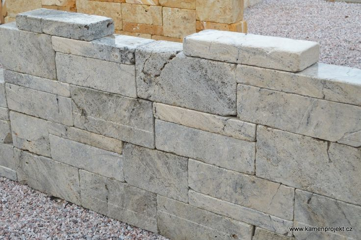Kamenná zeď Luxury Grey Massive