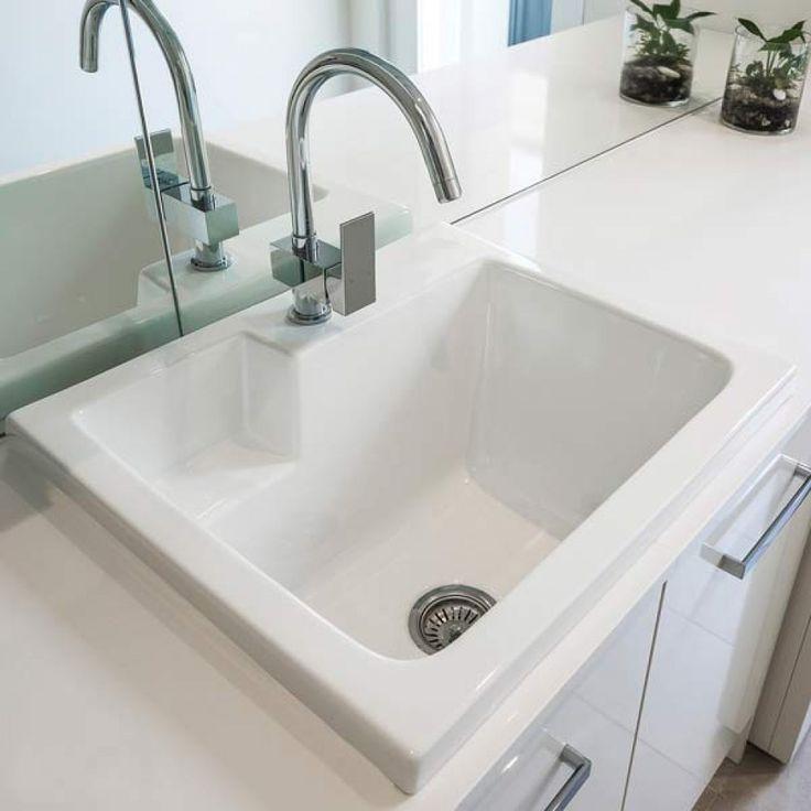 Eva Ceramic Laundry Sink