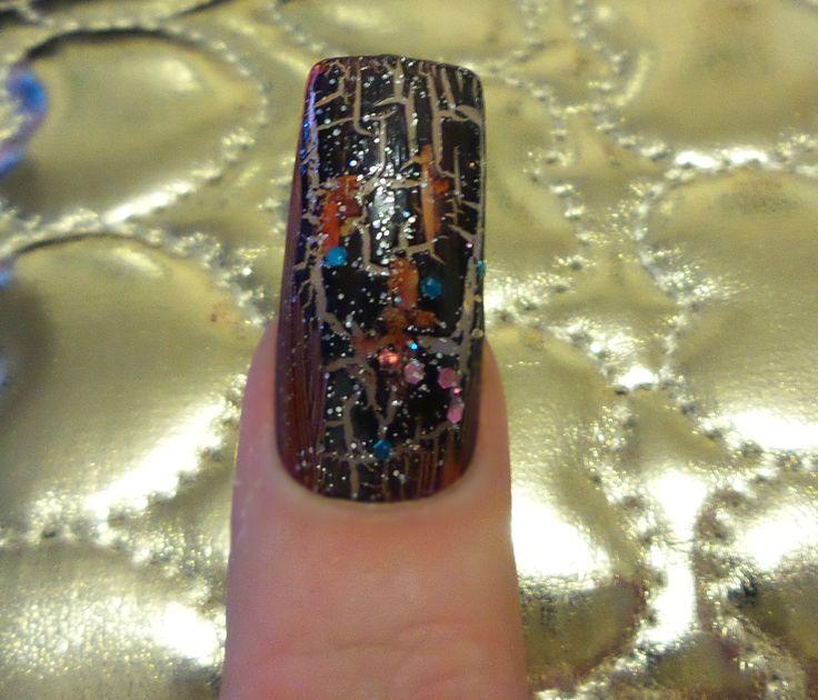 Mejores 318 imágenes de My Nails en Pinterest | Arte de uñas de arco ...