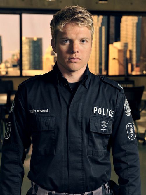 David Paetkau in Flashpoint