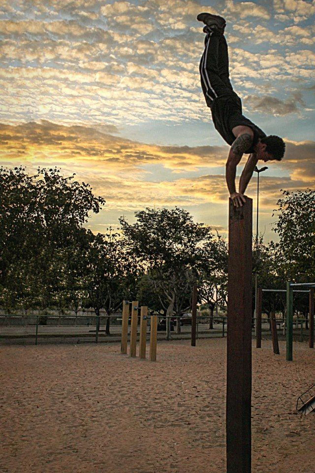 Have The Image In My Head Of Me Doing A Handstand Front Mooloolaba