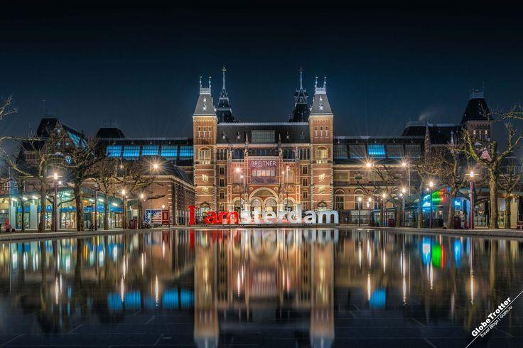 Rijksmuseum - Рейксмюсеум художественный музей Амстердама - Нидерланды - I Amsterdam - достопримечательности Амстердама - GlobeTrotter - рассказы о путешествиях - описания достопримечательностей