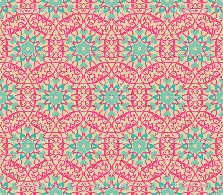 vintage wallpaper | Vintage pattern wallpaper vector seamless background | Vector stock ...
