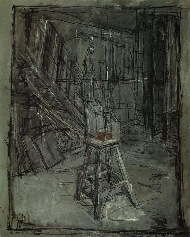 giacometti drawings....