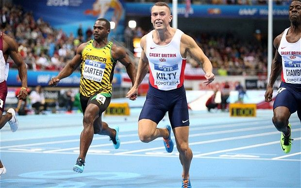 Richard Kilty: World Indoor Athletics Championships: 'My legs literally saved my life' says 60m champion Richard Kilty