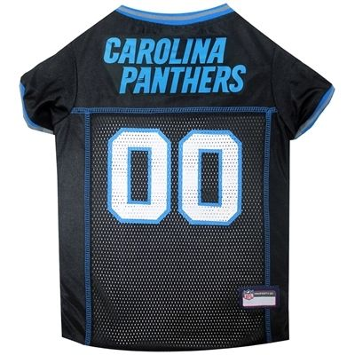 Free Shipping when you buy NFL Carolina Panthers Dog Jersey at DOGPetBoutique.com. We have a large selection by DoggieNation. Fast Shipping & No Hassle Returns where happy dogs shop!