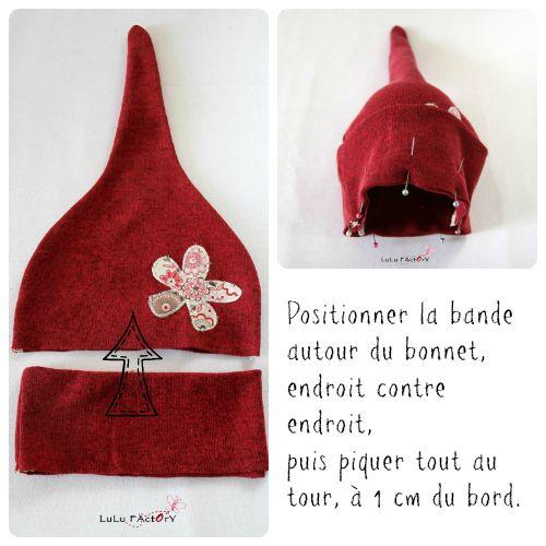 DIY : Bonnet bébé - Baby hat