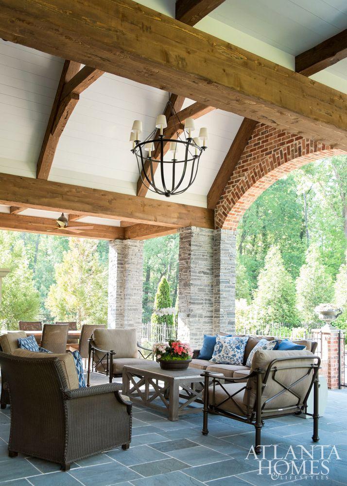 amazing outdoor living area