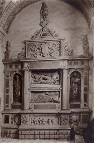 Nagrobek Górków, Hieronim Canavesi 1574 (Poznań)