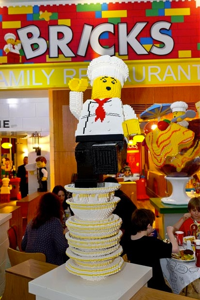Lego chef @ the Lego Land Cafe