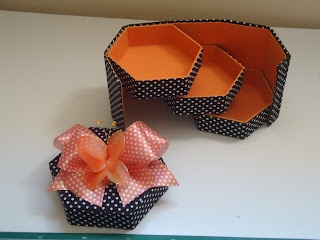 Caixa de cartonagem,linda!  Box Cartonnage Tutorial