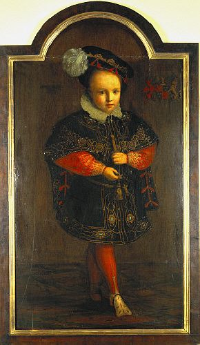 KING EDWARD VI - HEIR OF HENRY VIII AND QUEEN JANE SEYMOUR - 17th CENTURY OIL PAINTING.  IT'S BEAUTIFUL.