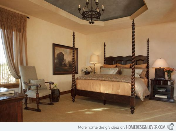 Top 25 ideas about tuscan style bedrooms on pinterest for Tuscany bedroom designs