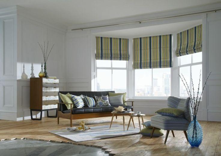 estores decoracion salones 2016 cortinas pinterest