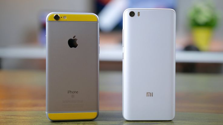 Xiaomi Mi 5 vs iPhone 6S
