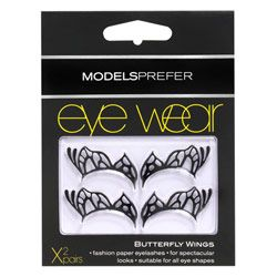 Buy Models Prefer Eye Wear, Paper Half Lashes Butterfly 2.0 Pairs - Priceline Australia