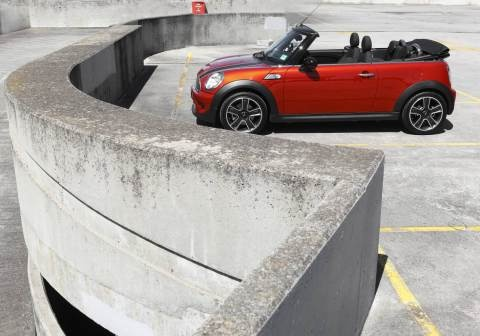 Mini Cooper Cabrio - very good if you are happy with the image
