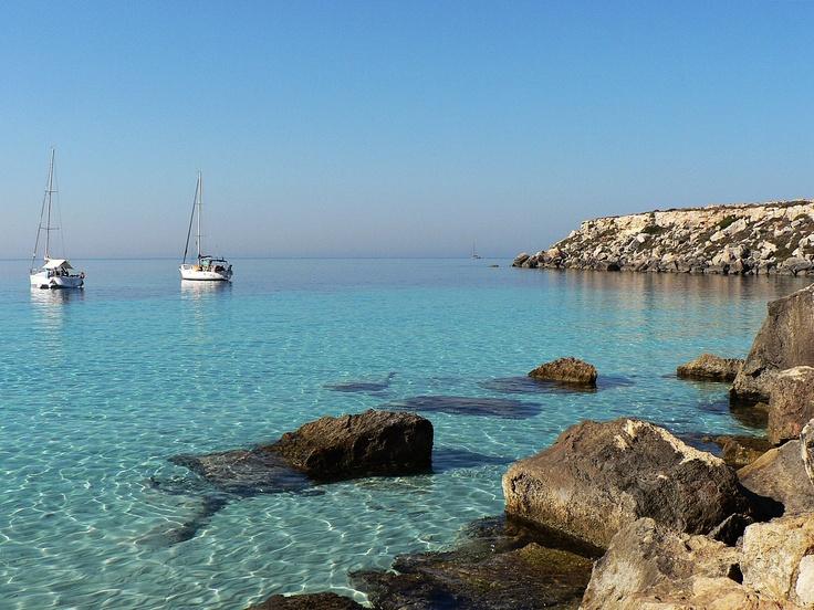 Mare di Favignana (Trapani, Sicilia, Italia) - Sea of Favignana (Sicily, Italy)