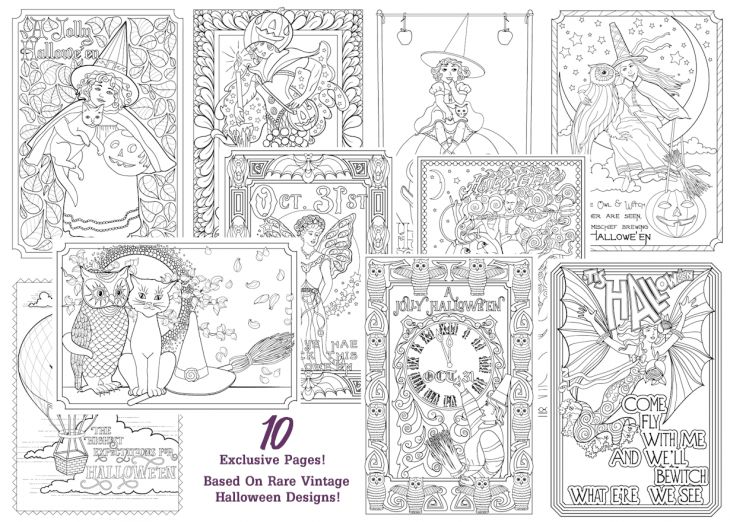 166 best Dark coloring images on Pinterest   Coloring books ...