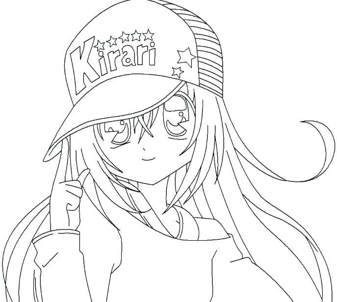 Anime Coloring Pages Girl Cute Coloring Pages Cartoon Coloring Pages Chibi Coloring Pages