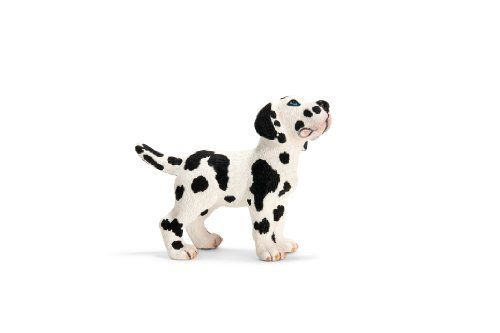 """Schleich Great Dane Puppy Figure by SCHLEICH NORTH AMERICA. $5.45. Fun Fact: A Great Dane named """"Gibson"""" was recognized as the world's tallest dog and reached over 7 feet when standing!. Zoological Name: Canis familiaris. 0.8 in L x 2 in W x 1.6 in H. Don't be intimidated by the huge size of the Great Dane as it is known as a gentle giant. The first German breed of dogs, Great Danes are regal, displaying strength and dignity with elegance in their stature and formation. Gen..."""