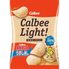 カルビーライト ! ポテトチップス うすしお味 | 商品検索 | カルビー株式会社