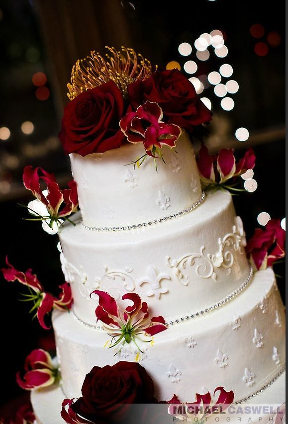 Fleur De Lis Wedding Cake Someday My Prince Will Come