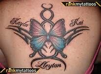 Butterfly Tattoos With Names - Bing Images